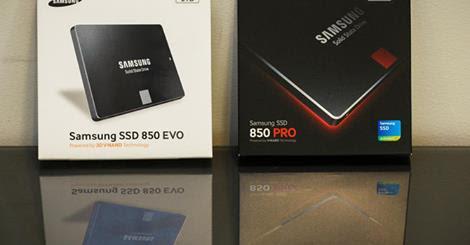 Samsung apuesta por el almacenamiento con sus nuevos SSD 850 PRO y 850 EVO de 2TB - Bolivia informa