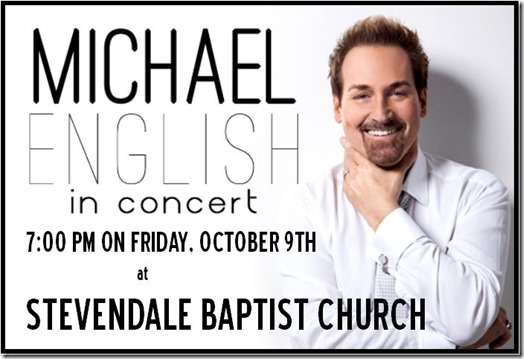 michael english concert