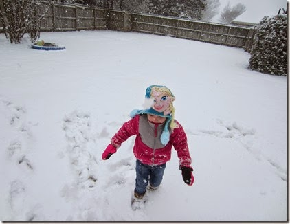 Zoey playing in the snow30