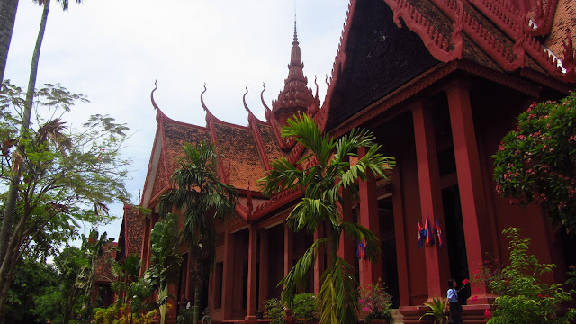 The National Museum of Cambodia.