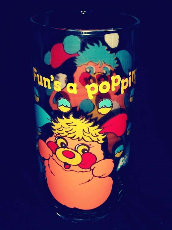 Popples Drinking Glass Puzzle Popple Side 1