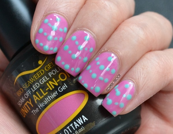 NAIL ART | Bio Seaweed Gel Review of #262 Whitehorse & #256 Ottawa #CBBLovesBSG