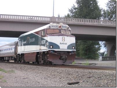 IMG_8700 Amtrak NPCU #90230 in Kelso, Washington on August 25, 2007