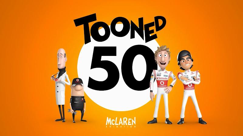 Tooned 50 McLaren