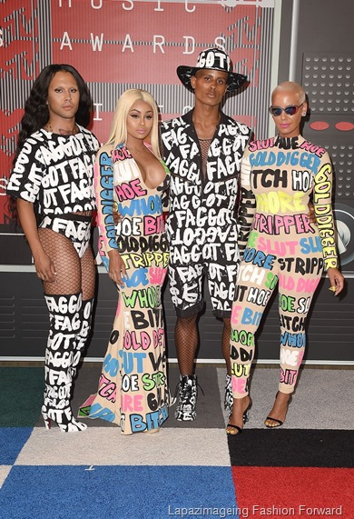 Blac Chyna and Amber Rose crew