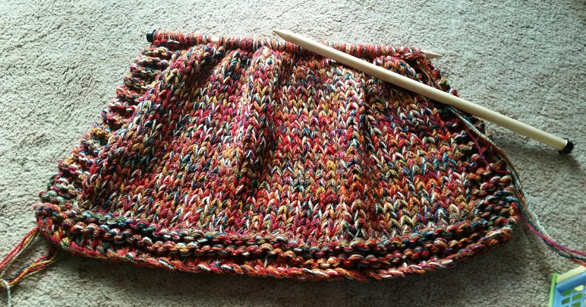 Knit-Sew-Grow: Extreme Knitting Blanket