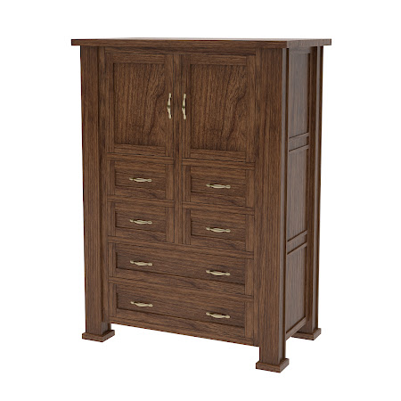 Matching Furniture Piece: Hagen Armoire Dresser, Cocoa Cherry