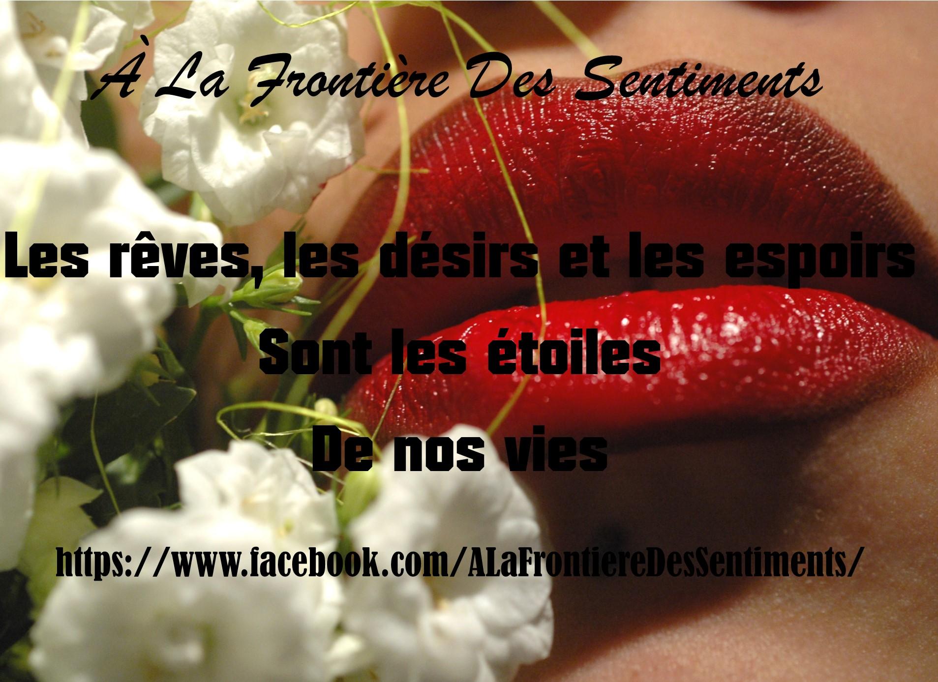 A La Frontière Des Sentiments, Chris Savignan, Amélie Florino et Valentine Fiona Vénusa vous souhaitent...