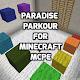 Paradise Parkour map for MCPE