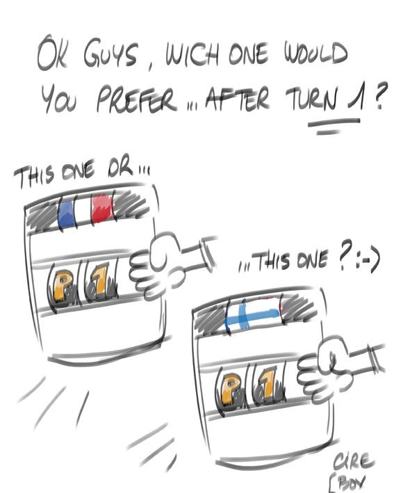 комикс Cirebox по Гран-при Испании 2012