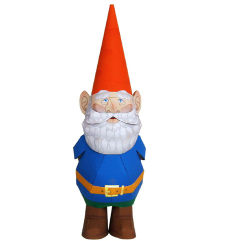 Paper Craft: Gnome Papercraft