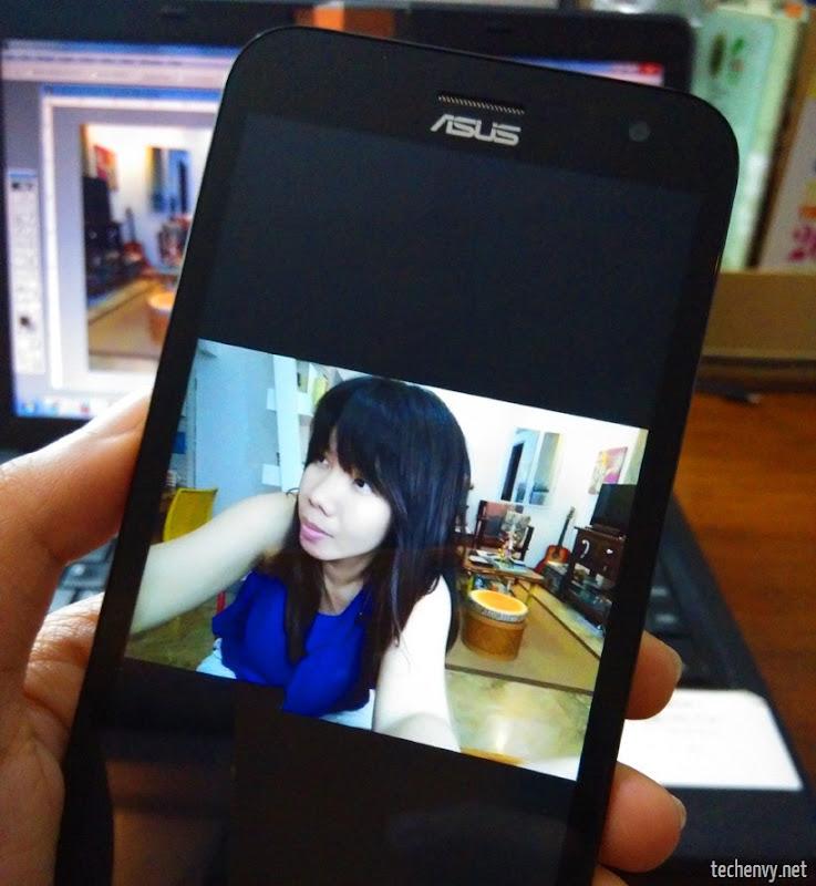 Zenfone 2 Laser selfie