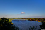 Lauenburg, Blick über die Elbe