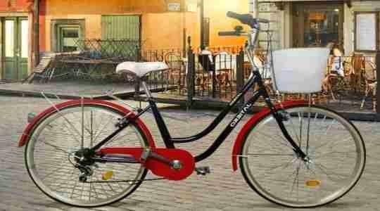 Bici urbana como regalo para una madre