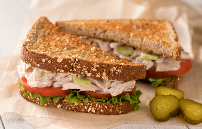 Toasted Tuna Salad Sandwich Recipe | Yummly
