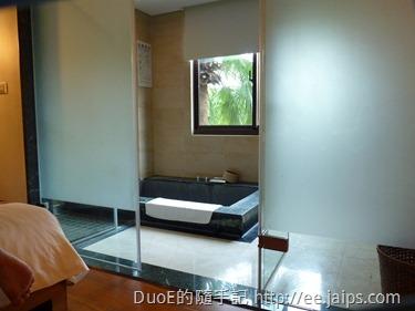 岩湯精緻套房-浴室1