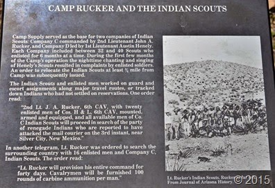 Camp Rucker Sign