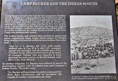 Camp Rucker Sign