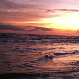 Sunset over the Gulf of Mexico in Destin FL 03232012j