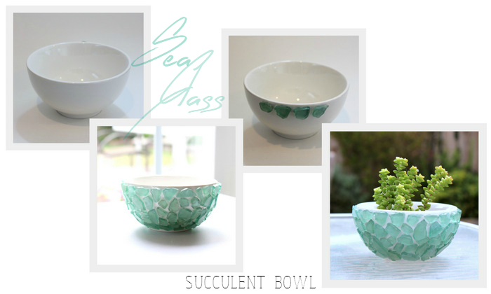 Sea Glass Succulent Bowl - homework (1)