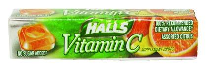 vitamin c halls