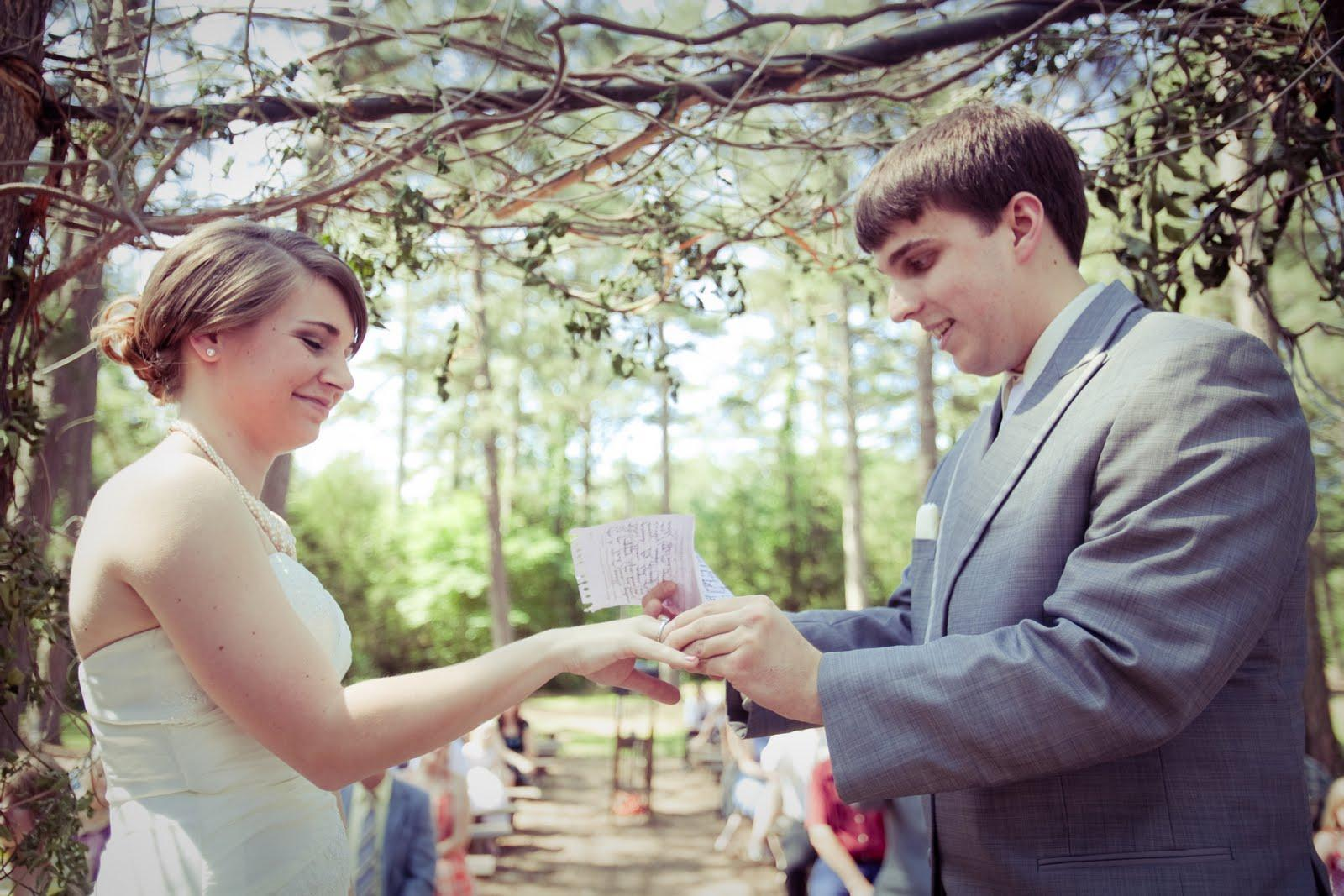 Do it yourself! Wedding in Petit Jean Park