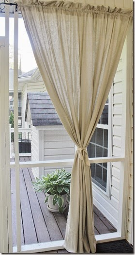 Creative Ambitions Drop Cloth Outdoor Curtain