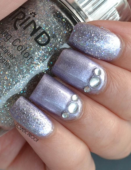 Trind Caring Color Nail Lacquer in Luscious Lavender