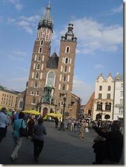 Wawel, Kathedrale, Abschiedsessen in Krakau 019
