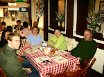 Left to Right: my brother Mike, his wife Nam Kim, my mother Erika Dougherty, my aunt Marie Ludeman, and my uncle John Ludemann.  We are at a family dinner at a German restaurant in Hagerstown, Maryland.