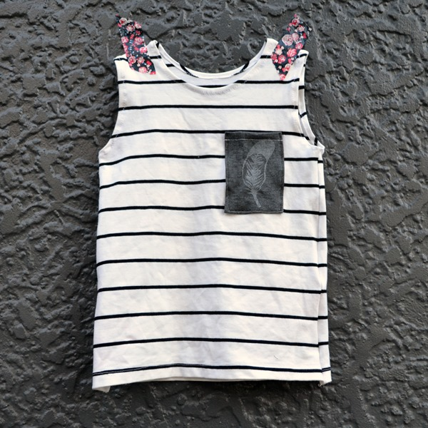 Simple feather tank
