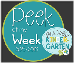 peek at my week 2015