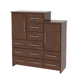 Waterfall Vertical Dresser