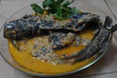 Resepi masak lemak cekur ikan keli