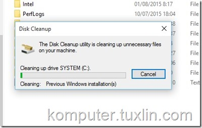Screenshots Cara hapus folder windows old Tuxlin Blog09