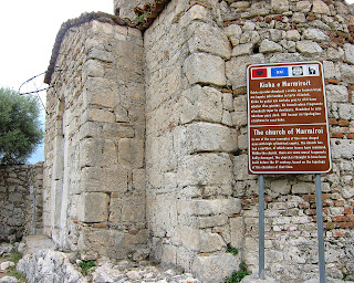 The church of Marmiroi dated from VIII century (admission free).