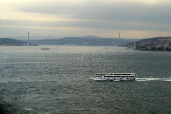 Европу и Азию, пролив Босфор мост мраморное море стамбул