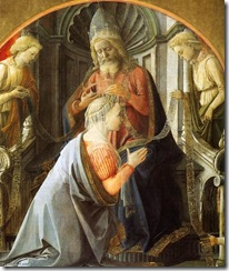 Fra-Filippo-Lippi-Coronation-of-the-Virgin-detail-11-