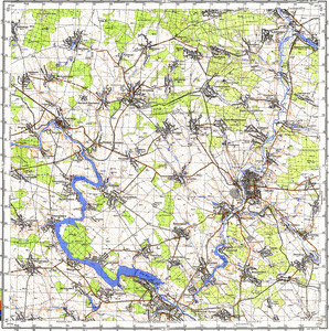 Map 100k--m35-119--(1978)