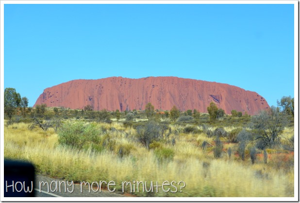 Sunset at Uluru | How Many More Minutes?