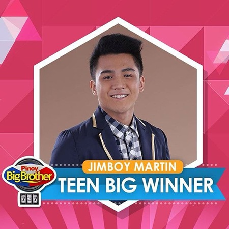 Jimboy Martin - PBB 737 Teen Big Winner