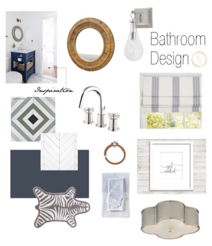 Bathroom Design Board s / n: bathroom inspiration & design