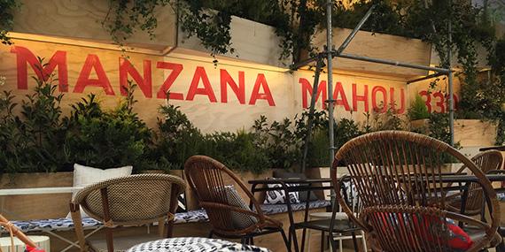 Manzana Mahou 330, una terraza de verano... y mucho más