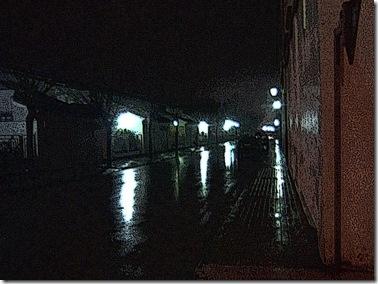 Lluvia en Baeza