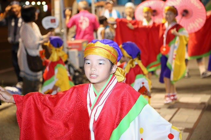 第60回よさこい祭り☆本祭2日目・上町競演場92☆上2目2946