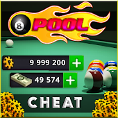 Coin & Cash for 8 ball pool - Game Prank