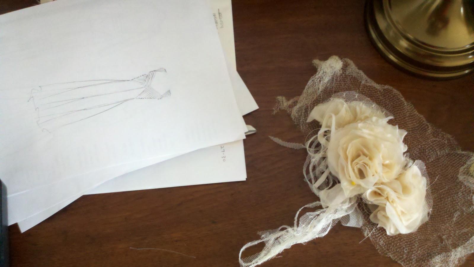 Taras Antique Wedding Dress