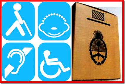 Elecciones - Discapacidad