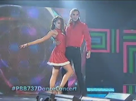 Miho and Tommy dance to Sway