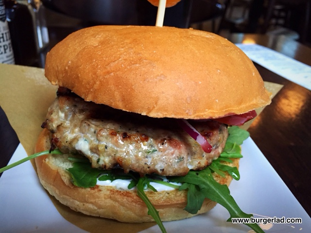 Handmade Burger Co Dingley Dell Burger